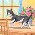 "Illustrations of ""Cat, Kitten, Pet, Interior, Flower"""