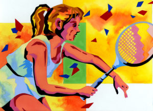 Sport,Athlete,Player,Person,Woman,Female athletes,Sportswoman,Tennis,Tennis player,Tennis racket,Racket,Tennis wear