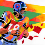"Illustrations of ""American Football・American rugby・American football"""