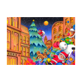 """Illustrations of """"Christmas tree, Santa Claus, Toy, Doll, Christmas Eve"""""""