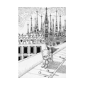 "Illustrations of ""Church, Children, Fairy, Fantasy world, Loneliness"""