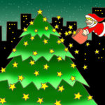 "Illustrations of ""Twinkle star, Christmas tree, Christmas Eve, Silent Night"""