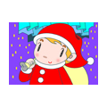 "Illustrations of ""Cute Santa Claus, Xmas, Window light, Father Christmas"""