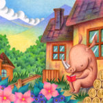 "Illustrations of ""Rhino, Rhinoceros, Hut, Countryside, Reading"""