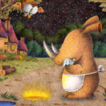 "Illustrations of ""Rhino, Rhinoceros, Starry sky, Loneliness"""
