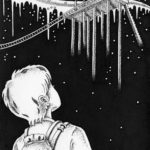 "Illustrations of ""Travel, Traveller, Aerial Station, Starry sky, Boy"""