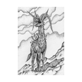 "Illustrations of ""Deer, Antelope, Cliff, Mountainous area, Animal"""