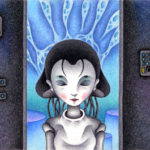 "Illustrations of ""Birth, Robot, Humanoid, Laboratory, Automatic doll"""