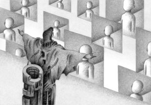 SF,Science fiction,Science fantasy,Imagination,Fantasy,Fantasy science,Pencil drawing,Colored pencil drawing,Analog illustration,Illustration,Art,Painting,Hand drawn illustrations,Guru,Religion,Faith,Teaching,Emerging religion,Believer,Screen,Delivery,Future society,Future world